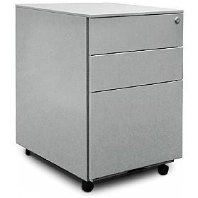 Go Steel Mobile 3 Drawer Pedestal