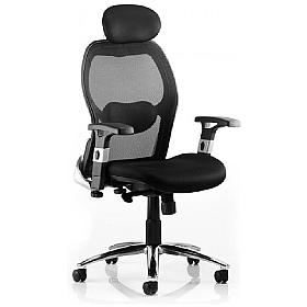 Sanderson Mesh Manager Chair