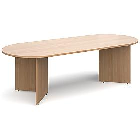 Elegance Radial End Boardroom Table
