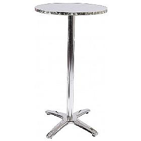 Aluminium Tall Bistro Poseur Table