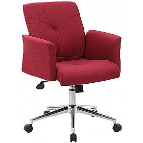 Rome Fabric Swivel Chair