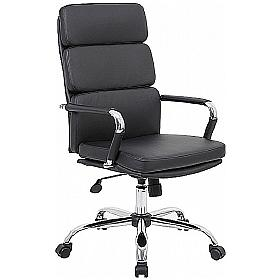 Deco Executive Chair Black