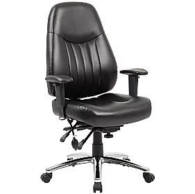 Stapleton 24 Hour Leather Task Chair