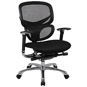 Active 24hr Ergonomic Mesh Back With Air Mesh Seat  (Without Headrest)