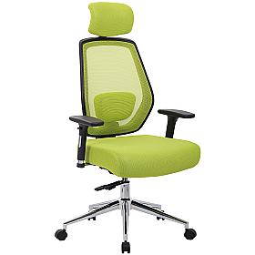 Ergo-Task Ultimate Mesh Office Chair with Posture Sprung Seat