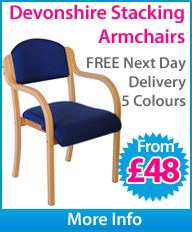 Devonshire Stacking Armchairs
