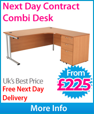 Next Day Contract Combi Desk