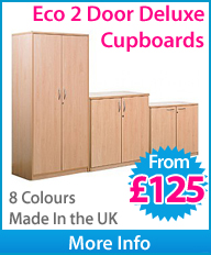 Eco 2 Door Cupboards