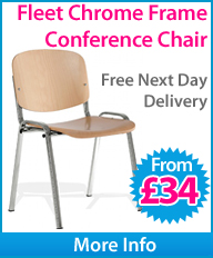 Fleet Chrome Frame Conference chair