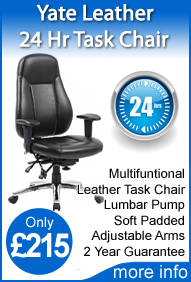 Yate 24 Hr Leather Task Chair