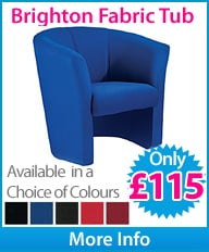 Brighton Single Seater Fabric Tub Chair