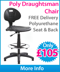 Poly Draughtsman's Chair