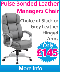 Pulse Bonded Leather Managers Chair