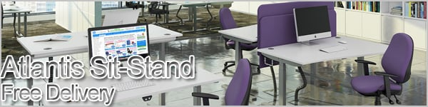 Atlantis Sit-Stand Desks