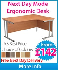 Next Day Mode Ergonomic Desk