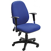 Sofia Inflatable Lumbar Support Operator Chair