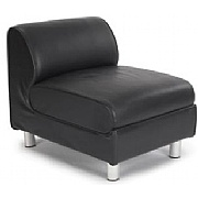 Toulouse Modular Leather Reception Seat