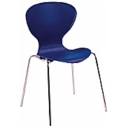 Serene Polypropylene Bistro Chair - Pack of 4