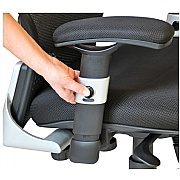 Ergo-Tek Black Mesh Manager Chair