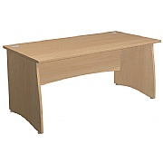 Arena Standard Rectangular Panel End Desk