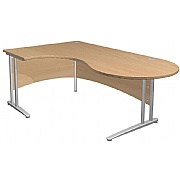 Arena Contract Ergonomic Conference Cantilever Desk