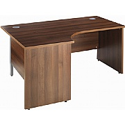 Houston Ergonomic Panel End Desk