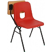 E-Series Polypropylene Chair With Writing Tablet