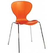 Pisa Polypropylene Bistro Chair (Pack of 4)