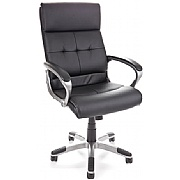 Prime II Leather Faced Executive Managers Chair