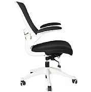 Two Tone Spider Mesh Manager Chair