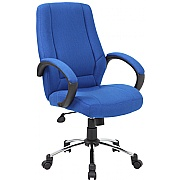 Comfort Fabric Manager Chairs