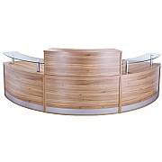 Haddon Curved Reception Desk