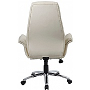 Chester Cream Leather Manager Chair