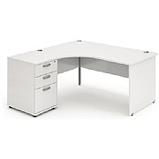 Arran Combi Desk Panel End