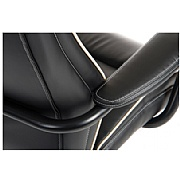 Goliath 24 Hour 27 Stone Black Leather Manager Chair