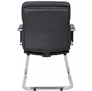 Boston Executive Black Visitor Chair