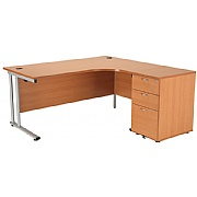 Next Day Contract 1600 Combi Desk