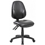 Comfort Ergo 3-Lever Leather Operator Chairs