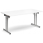 Next Day Mode Folding Chrome Meeting Table