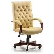 Chesterfield Traditional Leather Manager chair