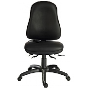 Ergo Comfort 24 Hr Leather Executive Operator Chair