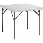 Next Day Poly Square Folding Table