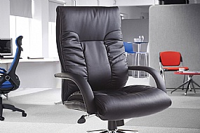 Leather Managers Chairs