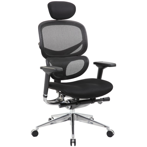 Ergo Mesh 24 Hour Office Chair With Air Mesh Seat Headrest From Our Ergo Mesh Office Chairs Range