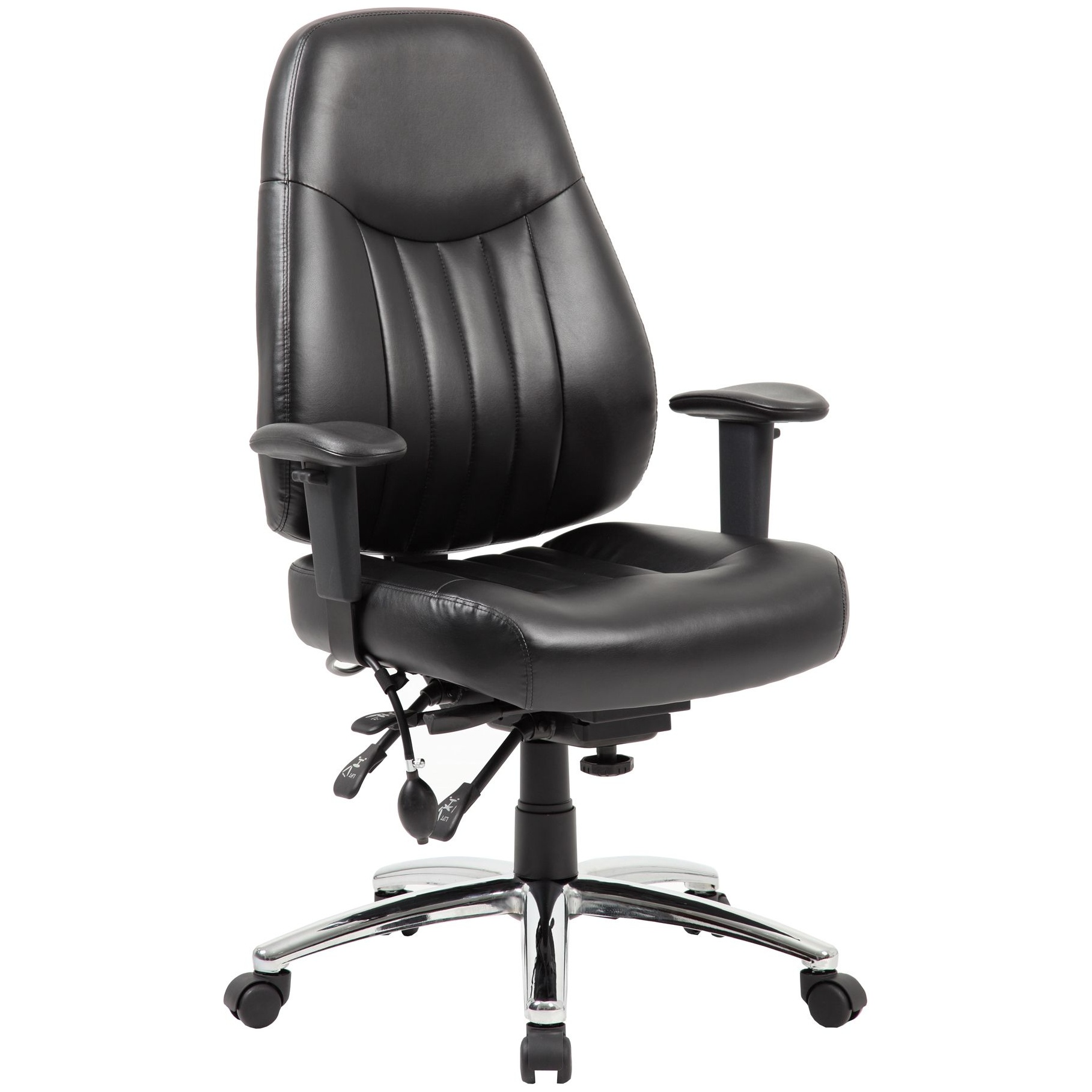 Stapleton 24 Hour Leather Task Chair From Our Leather